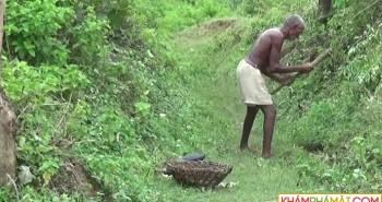 Người đàn ông Ấn Độ dành 30 năm để đào kênh dẫn nước về làng