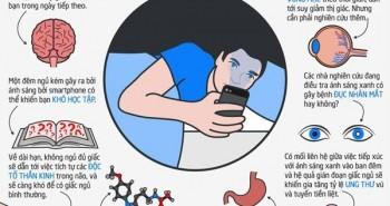 Vì sao không nên để điện thoại bên cạnh khi đi ngủ?